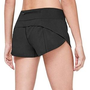 Lululemon speedy shorts
